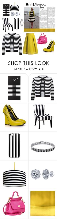"""""""a hint of pink and mustard"""" by vision-dr ❤ liked on Polyvore featuring NeXtime, Damsel in a Dress, Finesque, BERRICLE, Dolce&Gabbana and Sans Souci"""