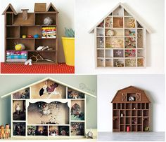 Hiving Out: little house shadowbox
