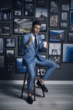 fashion # fashion for men # mode homme # men's wear Dapper Gentleman, Gentleman Style, Terno Slim, Formal Suits, Mode Style, Men's Style, Well Dressed Men, Suit And Tie, Look Chic