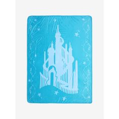 Disney The Little Mermaid Atlantica Throw Blanket (£21) ❤ liked on Polyvore featuring home, bed & bath, bedding, blankets, little mermaid bedding, disney bedding, little mermaid blanket, little mermaid throw blanket and disney throw