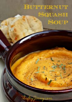 Easy Butternut Squash Soup Recipe - Thrifty Jinxy