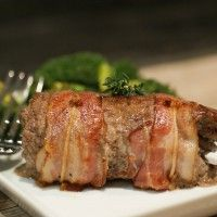 Bacon Wrapped Stuffed Steak
