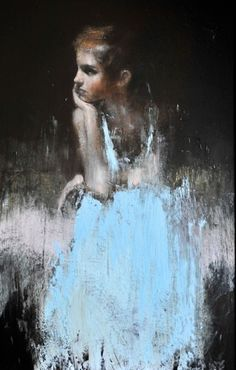 Mark Demsteader | art - beauty is in the eye of the beholder. I chose this because I love the transition between the black and blue.