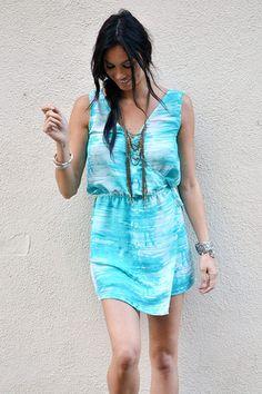Miranda Dress in Aquarius