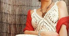 Feito à mão em crochet  Fio de algodão & Linho  105