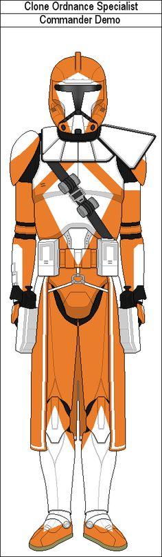 Commander Demo by MarcusStarkiller on DeviantArt Star Wars Pictures, Star Wars Images, Star Wars Timeline, 501st Legion, Galactic Republic, Star Wars Fan Art, Clone Trooper, Star Wars Clone Wars, Foam Armor