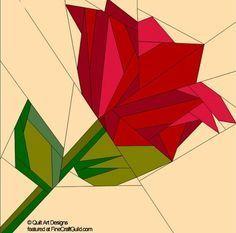 paper pieced quilt patterns | paper piecing quilt patterns animals flowers rose