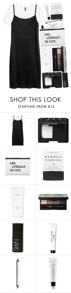 """""""Untitled #106"""" by blue-skies-mmiv ❤ liked on Polyvore featuring NARS Cosmetics, Herbivore, Hermès, Bobbi Brown Cosmetics, shu uemura, too cool for school, tumblr, icon, flawless and CasualChic"""
