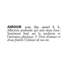 Amour Definition Wall Decal ($28) ❤ liked on Polyvore featuring home, home decor, wall art, black, phrase, quotes, saying, text, target wall art and black wall decals