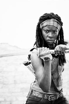 One if my favourite TV characters. Michonne is badass!
