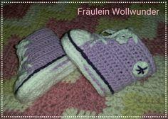 Babyturnschuh * Baby * shoes * gehäkelt * crochet https:// www.facebook.com / fraeuleinwollwunder