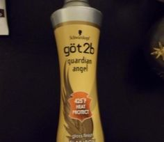 I always use Got2Be Guardian Angel Heat Protection spray when I use heat styling tools on my hair.