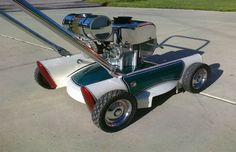The Vintage Mower - The Most Ridiculous Custom Lawn Mowers | Complex UK