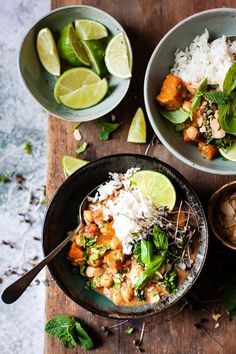 82cc5c5b347 Chickpea Coconut Curry • Salted Mint Chickpea Coconut Curry