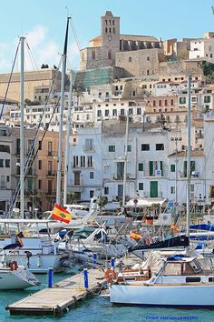 Ibiza, Spain and then Menorca. Places Around The World, Oh The Places You'll Go, Great Places, Places To Travel, Beautiful Places, Places To Visit, Amazing Places, Menorca, Ibiza Formentera
