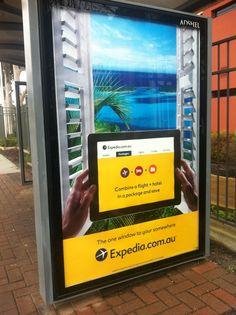 Expedia Print Ad (my image)