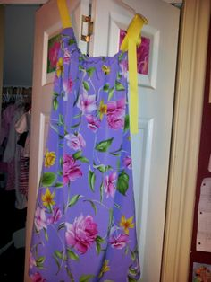 Pillow case dress for niece Bri nTICing dEsigns