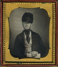 SWEET YOUNG MAN RUSSIAN OR JOCKEY STYLE CAP HAT & DEED WILL DAGUERREOTYPE DAG | Collectibles, Photographic Images, Vintage & Antique (Pre-1940) | eBay!