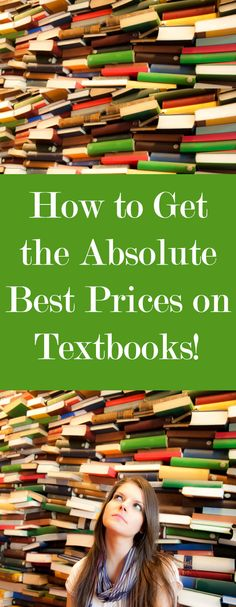 How to get the very best prices on textbooks!!! #textbooks #discount