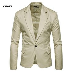 LUCKME Blazer Mens Slim,Suit Metallic Shiny Blazer Jacket One Button Coat Waistcoat Notched Collar Overcoat Casual Slim Fit Jacket for Business Wedding Party Outwear Jacket Tops