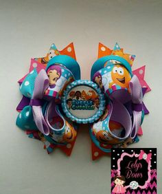 Hey, I found this really awesome Etsy listing at https://www.etsy.com/listing/244824977/bubble-guppies-inspired-stacked-boutique