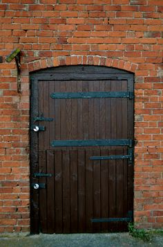Old stable door at an English farmhouse