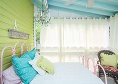sleeping porch | House of Turquoise: Jane Coslick's Cottage on the Green