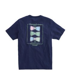 Shop Short-Sleeve Bow Tie Lineup Pocket T-Shirt at vineyard vines