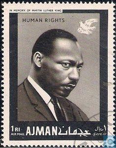 Postage Stamps - Ajman - Human rights