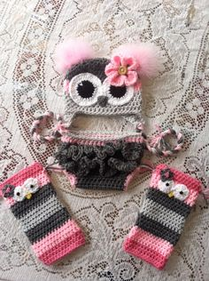 Newborn owl hat diaper cover by MarysMoxee on Etsy