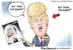 How can anyone think someone who is delusional enough to think he is fooling anyone, other than himself,  with his comb-over hairstyle can make intelligent decisions as President of the USA???
