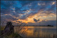 Island sunrise. Sir Bani Yas Island (Abu Dhbai)