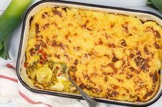 Preischotel met gehakt en spekjes Tasty, Yummy Food, One Pan Meals, Wok, Quiche, Macaroni And Cheese, Nom Nom, Food And Drink, Healthy Recipes