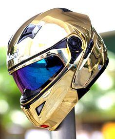 Cool motorcycle helmets Motorcycle Helmets looks like it belongs in space Motorcycle Helmets For Sale, Custom Motorcycle Helmets, Custom Helmets, Motorcycle Gear, Bike Equipment, Harley Davidson, Helmet Design, Bike Wheel, Cool Motorcycles