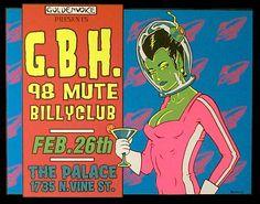 g.b.h. 98 mute billyclub