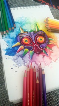Okay I have something to say about Majoras Mask tattoos. I see so many people (mostly girls -_- ) get just a simple majoras mask tattoo. I love majoras mask so much and I would love a m.m tattoo but I'm going to draw up a fantastic awesome one with a lot of background detail that no one else has lol
