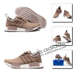 Adidas NMD_R1 Primeknit Originals Chaussure Homme Brun-4 :aditrace Adidas Nmd Primeknit, Adidas Nmd R1, Adidas Sneakers, The Originals, Collection, Shoes, Fashion, Adidas Shoes, Mens Shoes Uk