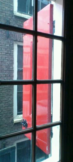 Shade of red in Amsterdam