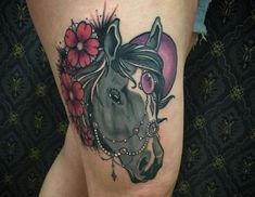 Pferde Tattoo Designs mit Bedeutungen – 35 Ideen