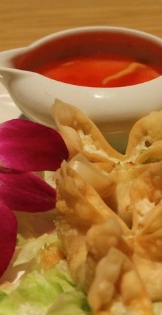 Baked Crab Rangoon - very easy to make and great for dinner part appetizers :)