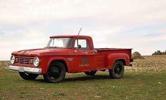 1965 Dodge D200 fire department signage