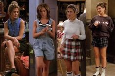 Icones de moda anos 90 | Rachel Friends