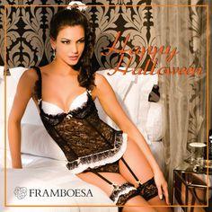 Doces ou travessuras? Romantismo ou sedução?   #framboesalingerie