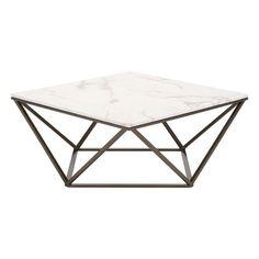 Mason Faux Marble Coffee Table
