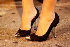 ¡Salida con tus amigas! Espectaculares zapatos de noche para fiesta