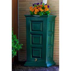 Good Ideas Savannah Rain Saver with Planter - Rain Barrels at Rain Barrel Source