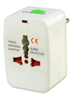 Universal Travel Charger Adapter Plug. IT DOES NOT convert electrical output and voltage