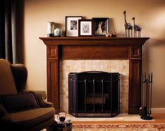 craftsman fireplace | Craftsman Style + Fireplace Design, Pictures, Remodel, Decor and Ideas ...