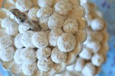Coconut-Lime Mexican Wedding Cookies