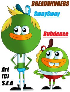 Breadwinners Christmas Episode : breadwinners, christmas, episode, Bread, Winners, Ideas, Winners,, Nickelodeon